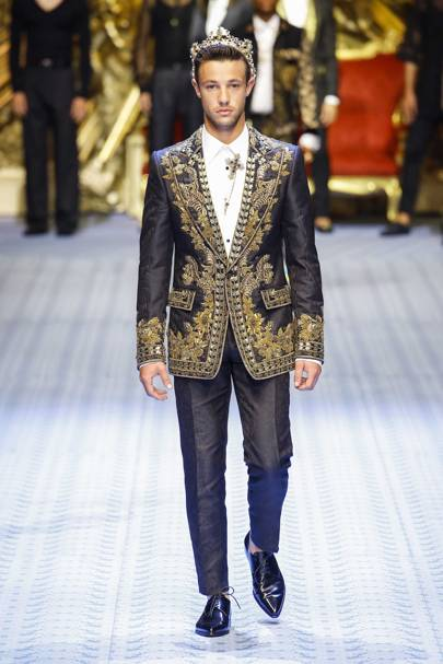 Dolce   Gabbana Spring Summer 2019 Menswear show report   British Vogue fa3bf6195778