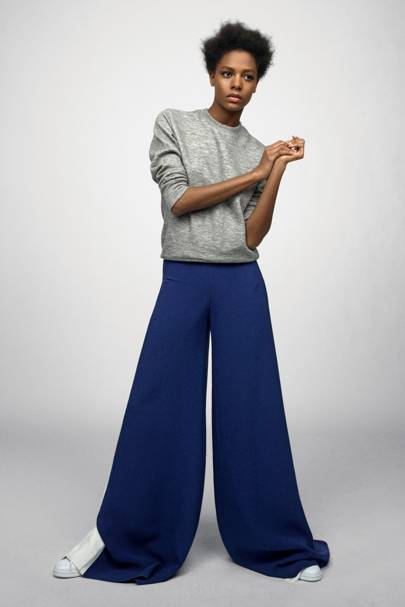 The Wide-Leg Trouser: