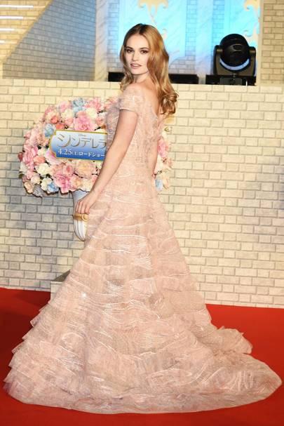 Cinderella premiere, Tokyo - April 7 2015