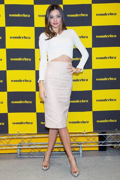 Wonderbra event, South Korea - October 15 2014
