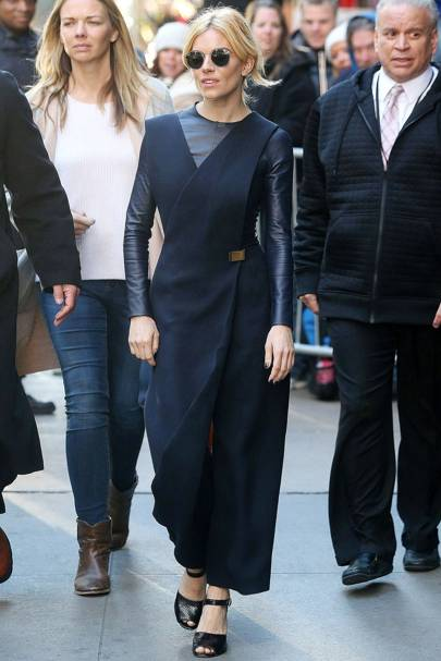 A jumpsuit for Good Morning America, October 19 2015