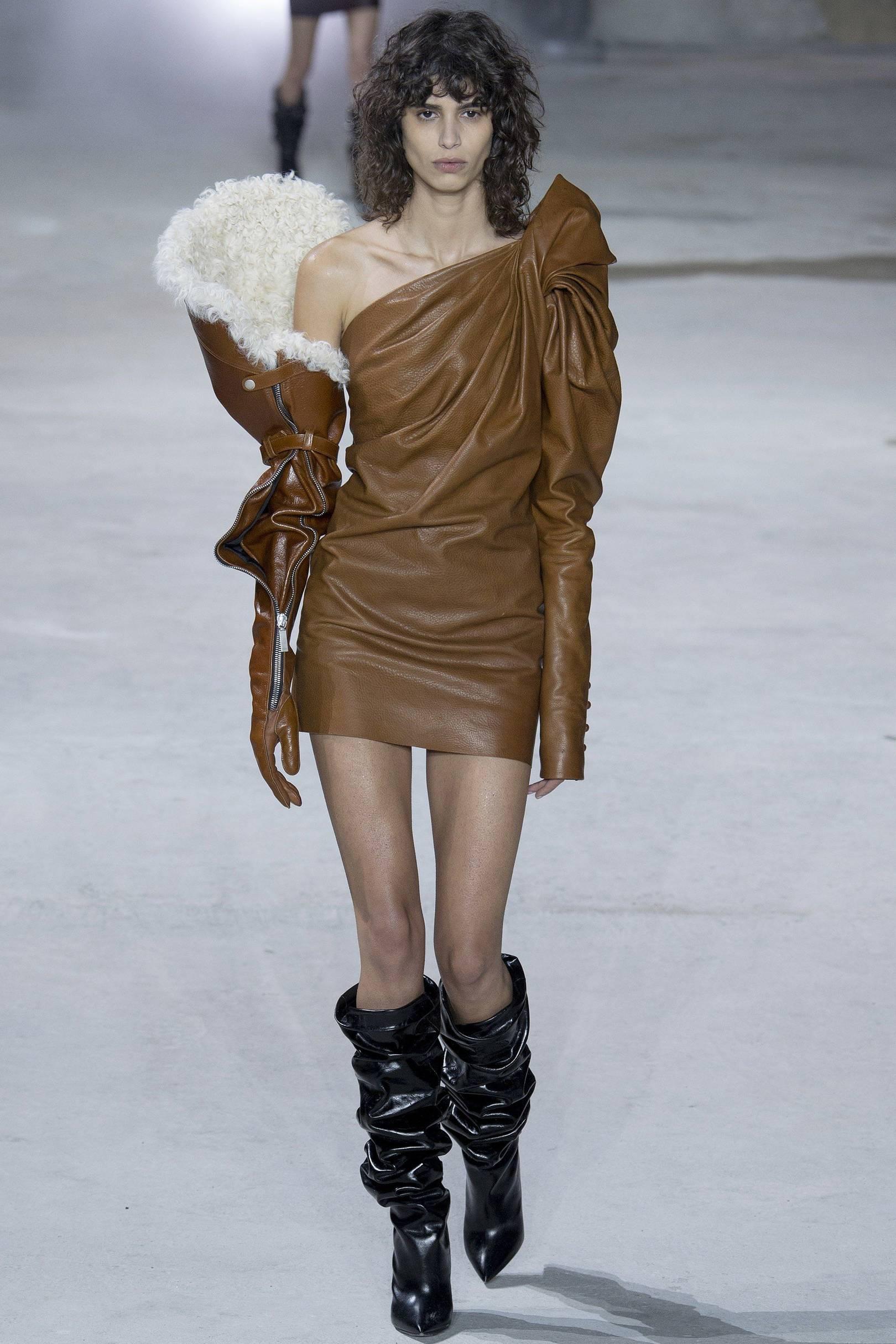 460845b16b3 Suzy Menkes reviews Anthony Vaccarello's Saint Laurent show | British Vogue