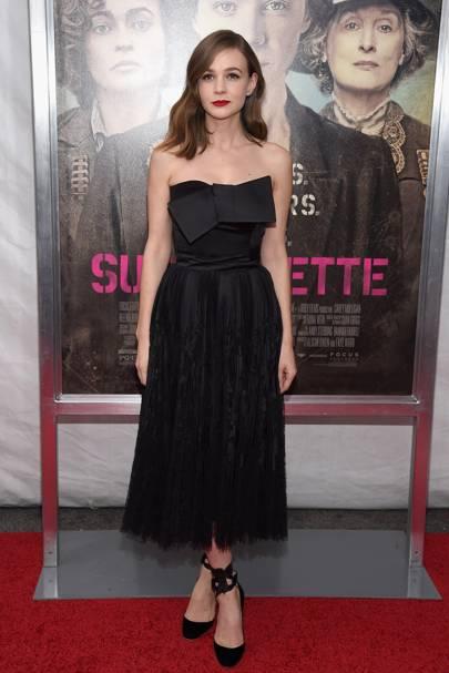 Suffragette premiere, New York - October 12 2015
