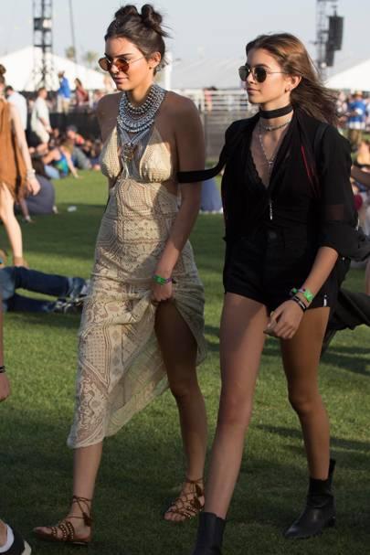 Kendall Jenner & Kaia Gerber