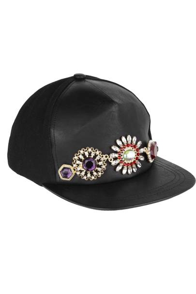Jeweled baseball cap, £30