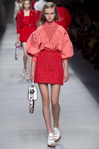 f4874087e0af Fendi Spring Summer 2016 Ready-To-Wear show report   British Vogue