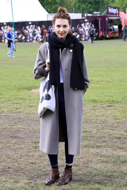 Nicki Sawo, fashion student