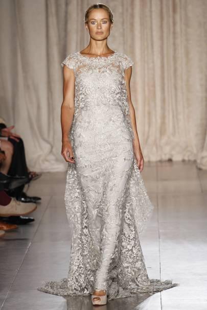 Blake Lively Wedding Dress Marchesa Bridal Gown - Married Ryan ...