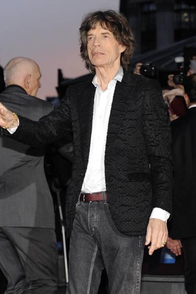 40. Musician Mick Jagger