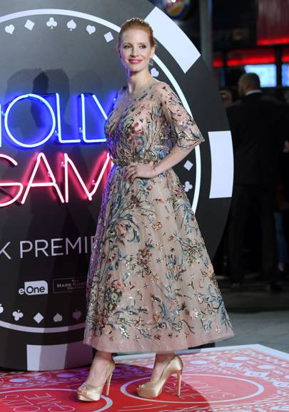 'Molly's Game' film premiere, London – December 6 2017