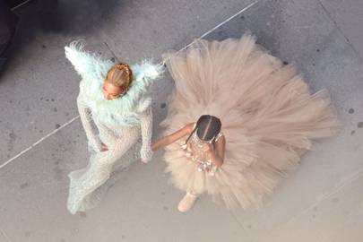 Beyoncé Knowles and Blue Ivy Carter
