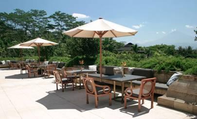 Hotel Aman, Borobudur, Java