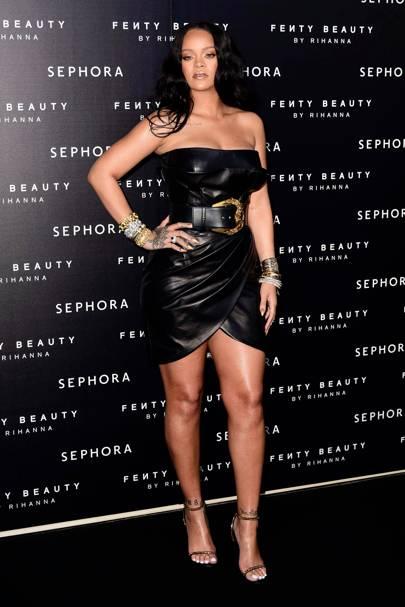 'Fenty' by Rihanna makeup launch, Milan - April 5 2018
