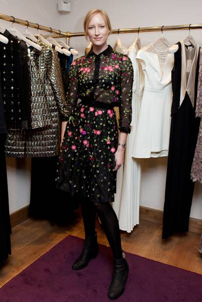 Temperley Colville Mews store relaunch party, London - October 8 2013