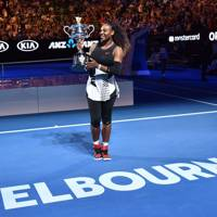 When she won the 2017 Australian Open while she was pregnant