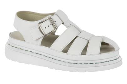 White sandals, £125