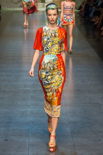 Dolce   Gabbana Spring Summer 2013 Ready-To-Wear show report ... 7b03b4ab903b