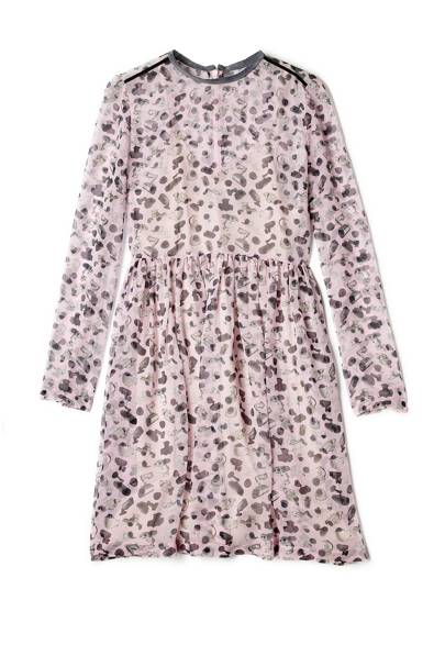 Printed dress, £279, Antipodium