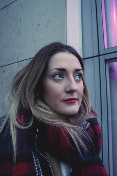 Charlotte Kempster, works at Selfridges