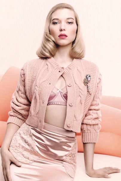 ce63a4099d7 Behind The Cover  Léa Seydoux s November Vogue Hair