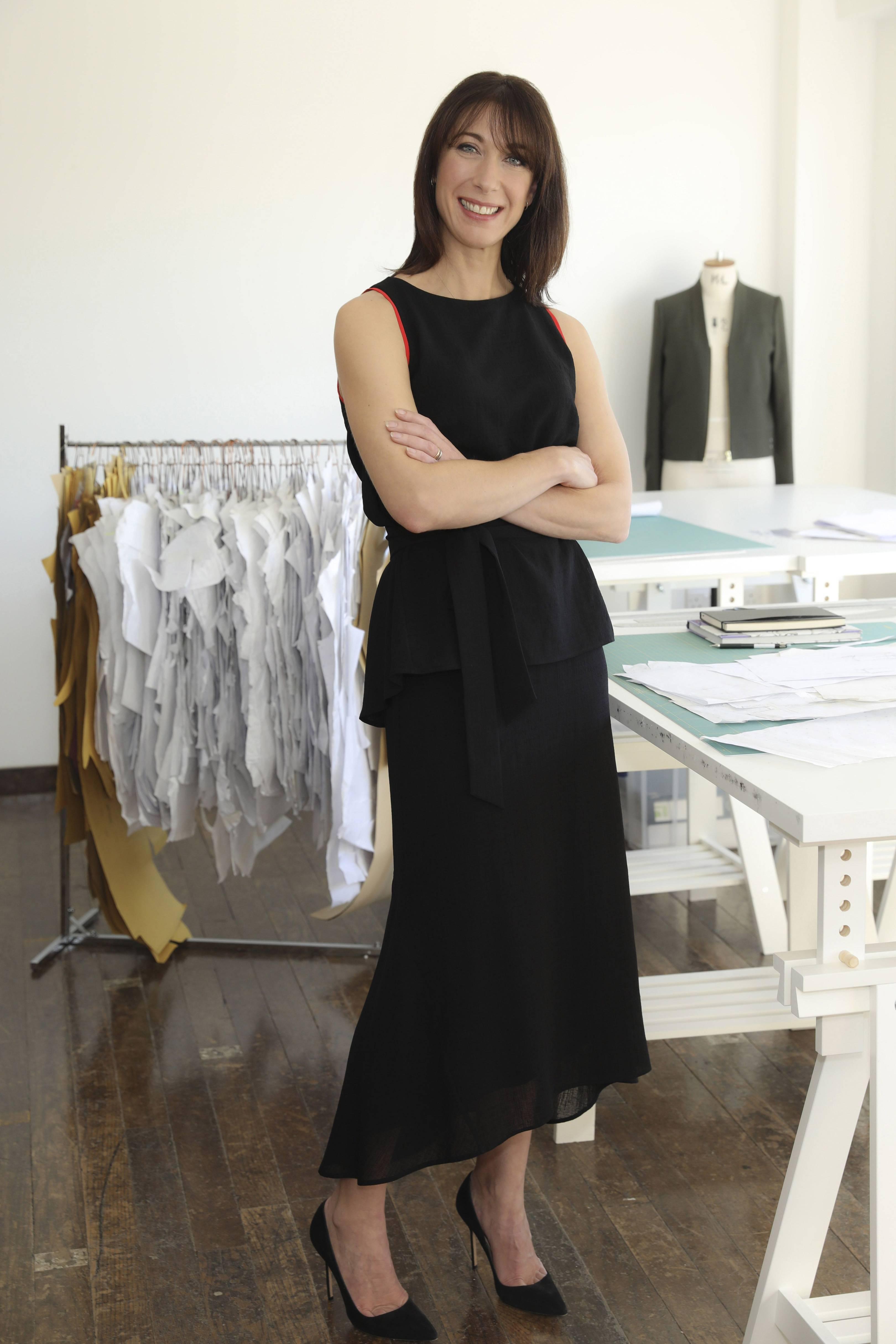Samantha Cameron Fashion Label Cefinn Interview British Vogue Tendencies Kaos Lost Mom Navy M
