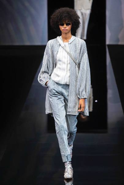 d50cf4d3b161 Giorgio Armani Spring Summer 2019 Ready-To-Wear show report ...