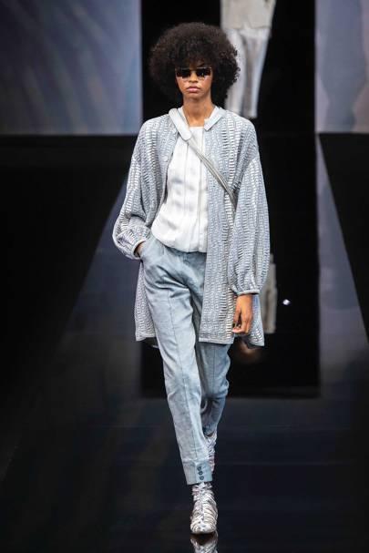 3ce1acf549cf Giorgio Armani Spring Summer 2019 Ready-To-Wear show report   British Vogue