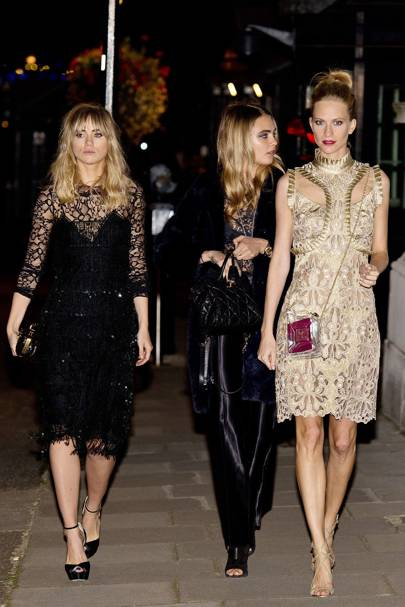 Downing Street London Fashion Week reception - September 15 2014