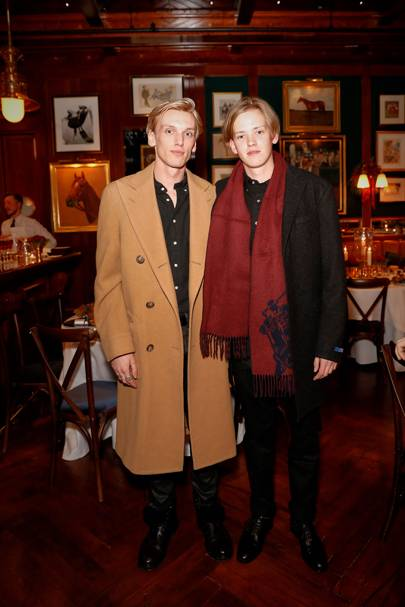 Polo Bear Holiday Dinner at Ralph's Coffee & Bar, London - December 6 2017