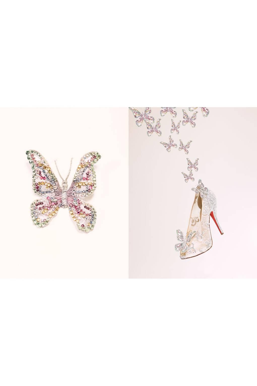 dc3b0686e2b0 Christian Louboutin Unveils Cinderella Glass Slipper