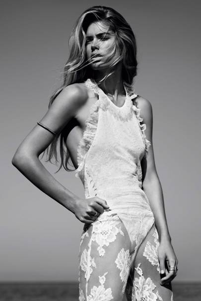 Doutzen Kroes - Vogue January 2013