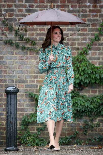 The Duchess Of Cambridge Pays Tribute To Princess Diana | British Vogue