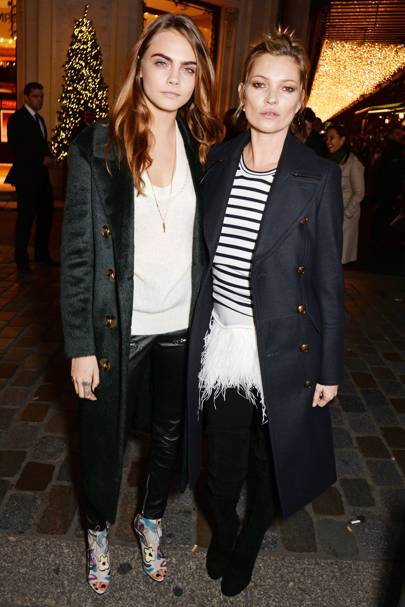 Printemps Christmas Decorations Unveiling, Paris - November 6 2014