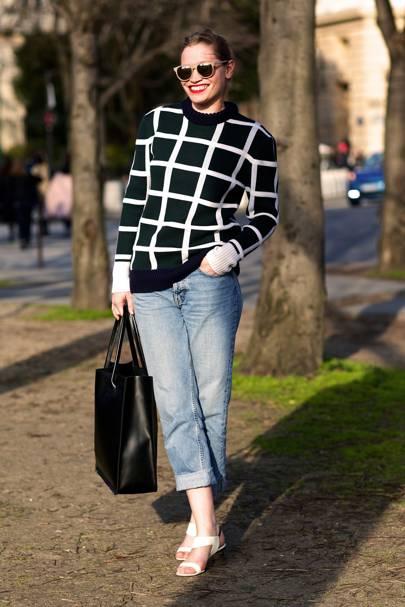 Sara Gilmour, fashion editor