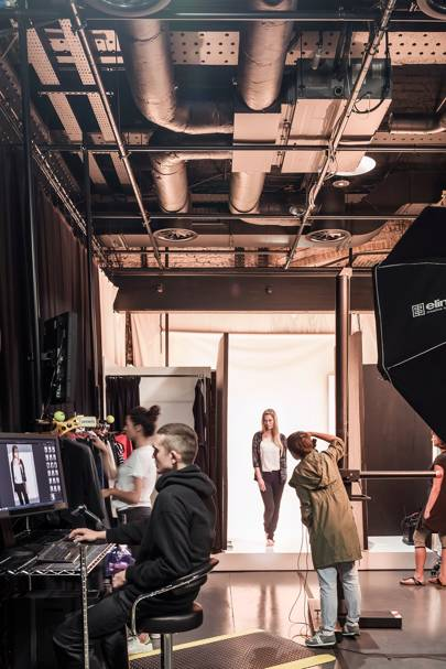 Amazon Fashion's Shoreditch photography studio