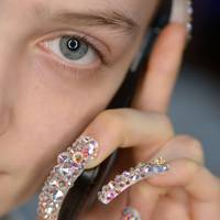 Gucci brought nail art back with a vengeance