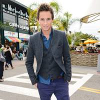 10. Actor Eddie Redmayne