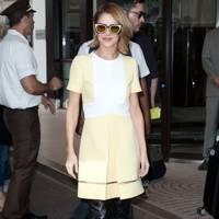 Arrivals at Nice Airport - May 14 2015