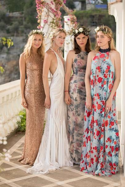 Galvan Eveningwear Designer Anna Christin Haas Wedding In