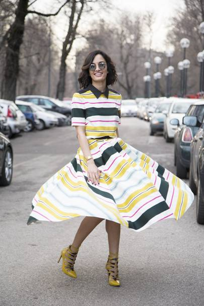 Amina Muaddi, shoe designer