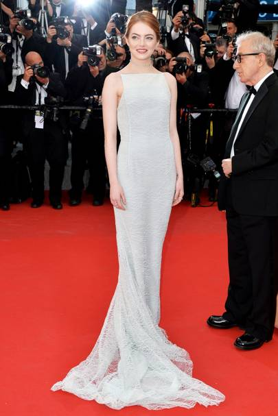 Sexiest Red Carpet Look: Emma Stone
