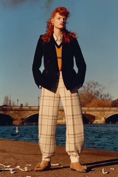 Vogue Shoot: A Walk In The Park