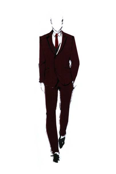 Vivienne Westwood's men's Virgin Atlantic uniform