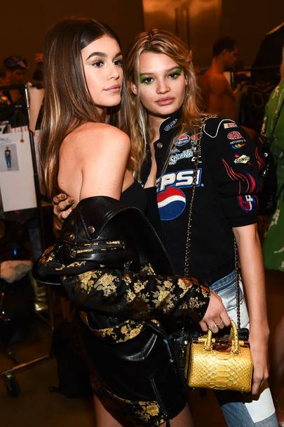 The Backstage BFF To Pose With