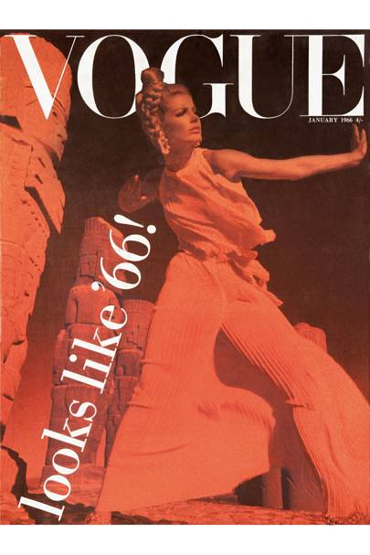 Vogue cover, January 1966