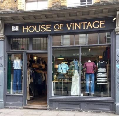 Vogue S Guide To The Best Vintage Shops In London British Vogue