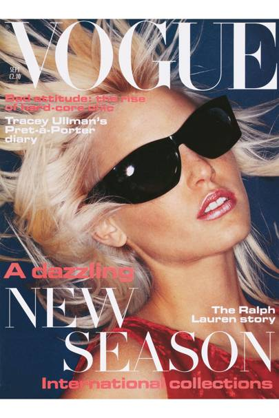 Vogue cover, September 1994