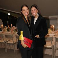 Gwyneth Paltrow, Elizabeth Saltzman and friends toast Goop's 10th Anniversary, London - October 8 2018
