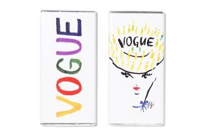 Vogue chocolate bars