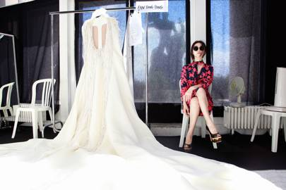 Making Stéphane Rolland's Autumn/Winter 2012-13 Bride